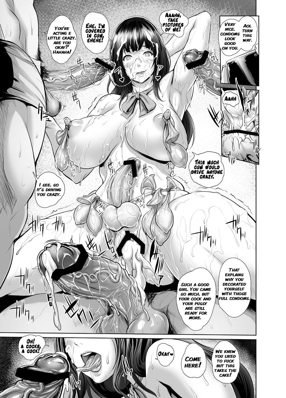 Ikken Majimena Kurokami Futa Musume Honto wa Chitsu Dashi Rankou Ofu-kai no Jouren 10
