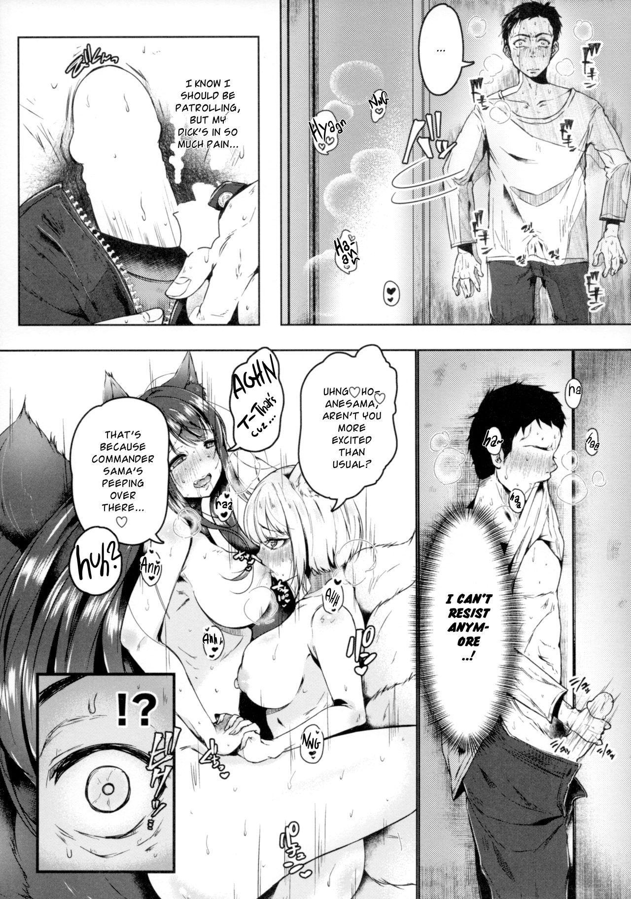 Hatsujou Kitsune ni Asobarete... | Toyed by foxes in heat 4
