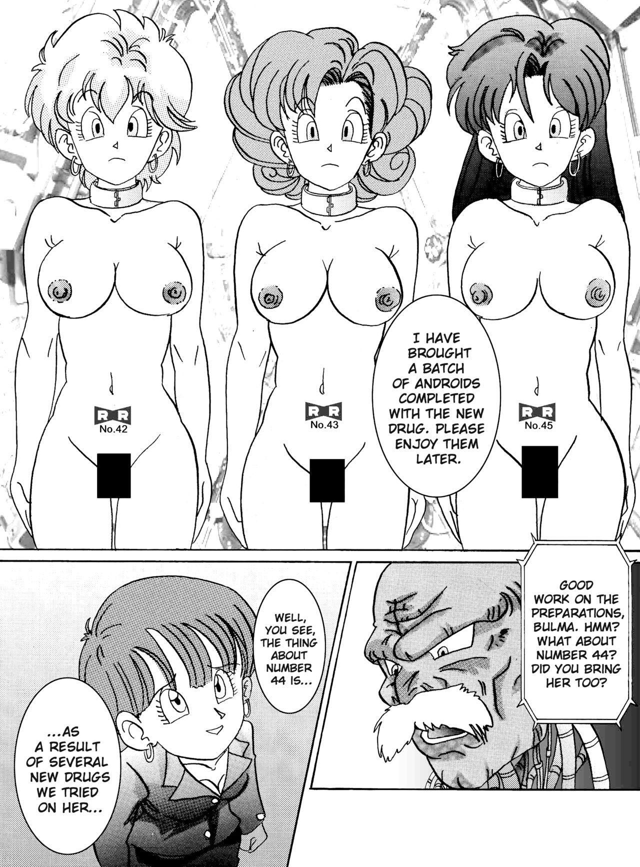 [Light Rate Port Pink] Tanjou!! Aku no Onna Senshi Jinzou Ningen 18-gou Sennou Kaizou Keikaku -Joshou- (Dragon Ball Z) [English] [ChoriScans] 8