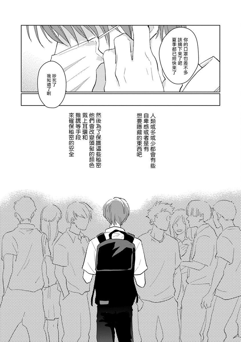 Mask Danshi wa Koishitakunai no ni   口罩男子明明不想谈恋爱 Ch. 1-9 6