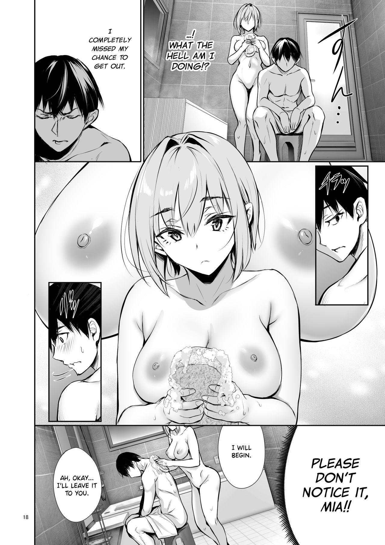 Homestay-chu no Doitsu Musume ga Issho ni Furo ni Haitte Kuru Wake | The Reason Why a German Girl Takes a Bath Together With Me on Her Homestay 17