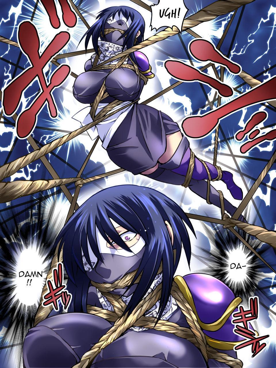 [Atelier Hachifukuan] Superheroine Yuukai Ryoujoku IV - Superheroine in Distress - Kunoichi Suzushiro [English] [Harasho Project] 16