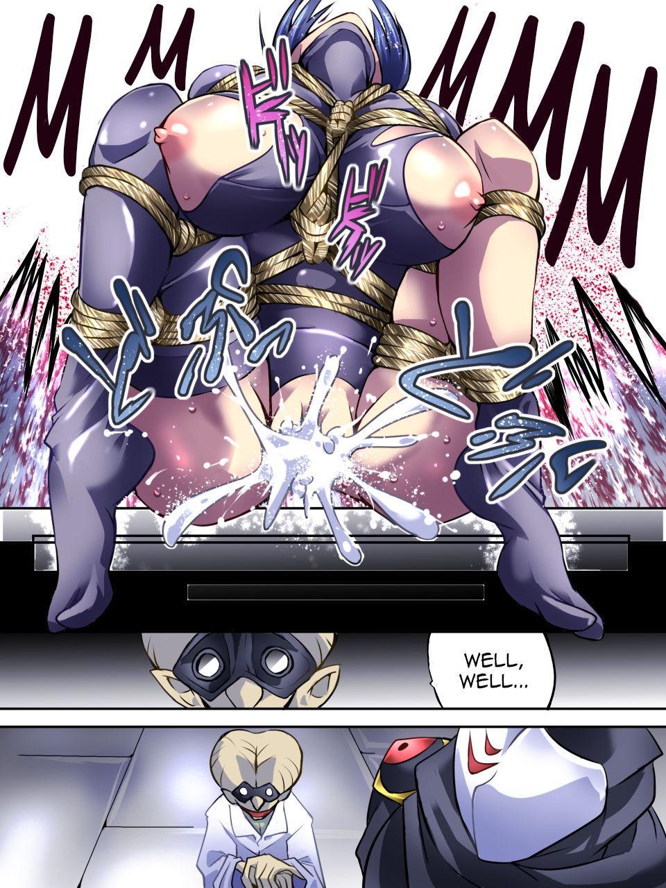 [Atelier Hachifukuan] Superheroine Yuukai Ryoujoku IV - Superheroine in Distress - Kunoichi Suzushiro [English] [Harasho Project] 30