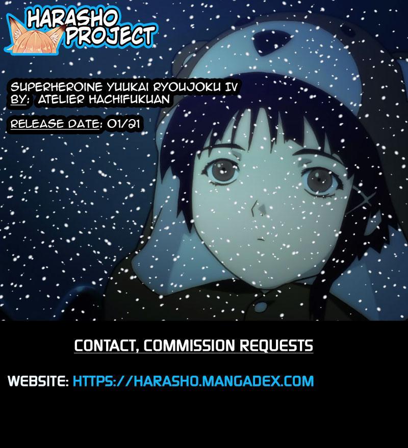 [Atelier Hachifukuan] Superheroine Yuukai Ryoujoku IV - Superheroine in Distress - Kunoichi Suzushiro [English] [Harasho Project] 36