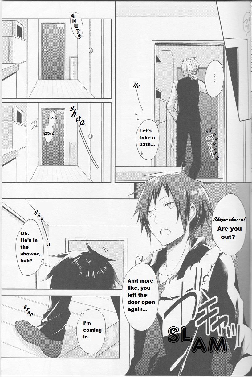 [no fate (Yuzuriha)] Shizu-chan no Himitsu o Shichatta!? | I Know Shizu-chan's Secret!? (Durarara!!) [English] {KCK-Amateur} 7
