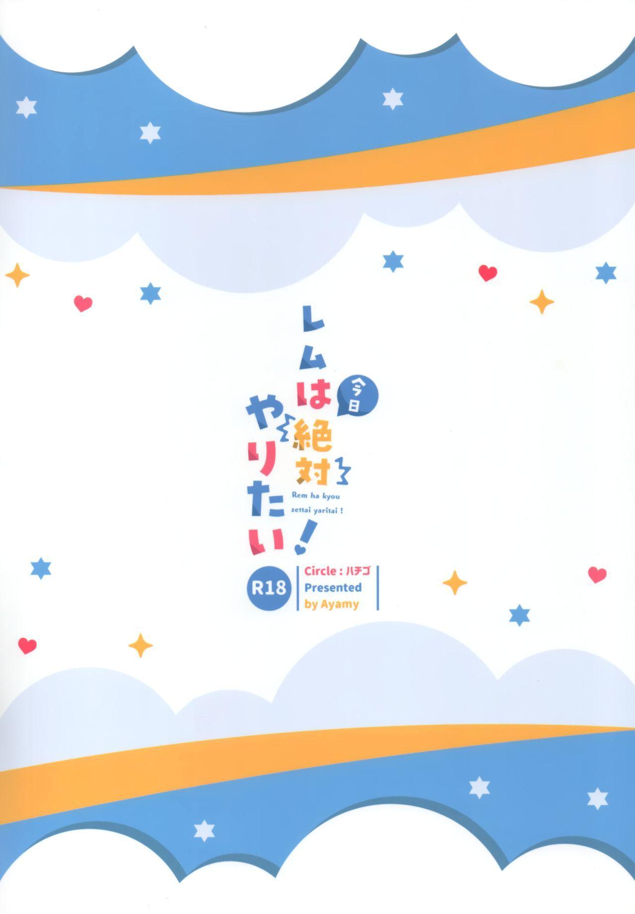 Rem wa Kyou Zettai Yaritai! 21