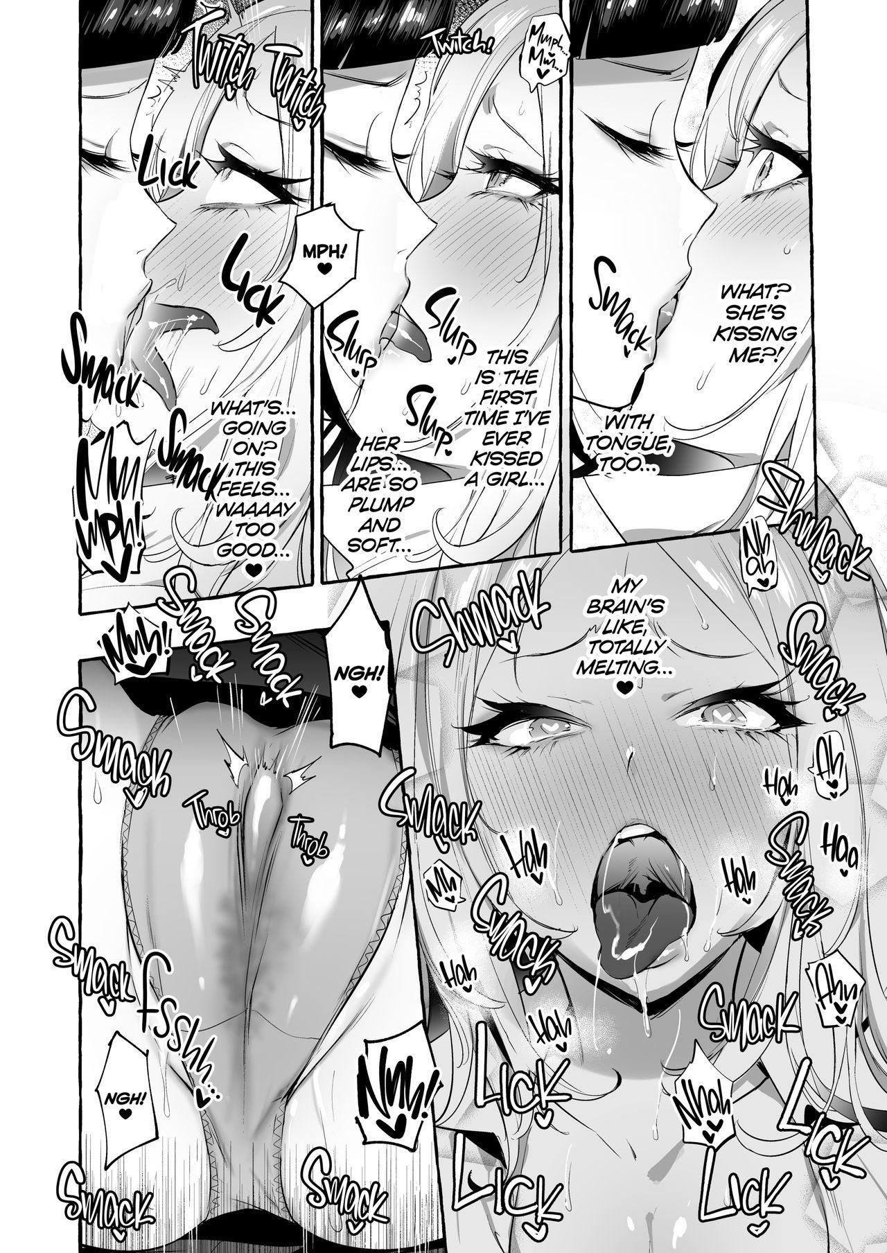 [Hibon (Itami)] Futanari-san to Nonke-san   Straight Girl Meets Futa [English] [2d-market.com] [Decensored] [Digital] 16