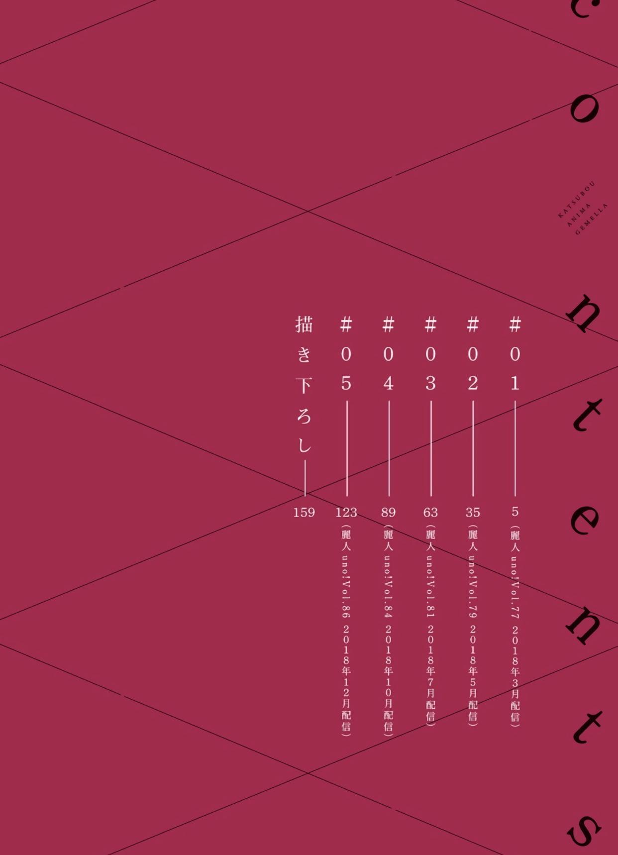 Katsubou Anima Gemella | 渴望灵魂之侣  1-3 2