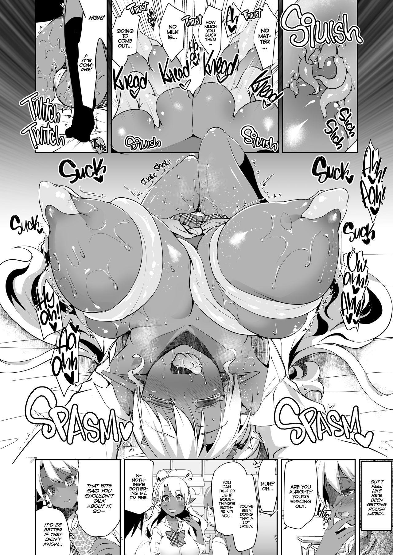 JK Dark Elf Shokushu o Kau! | Dark Elf Schoolgirl Raises Tentacles 8