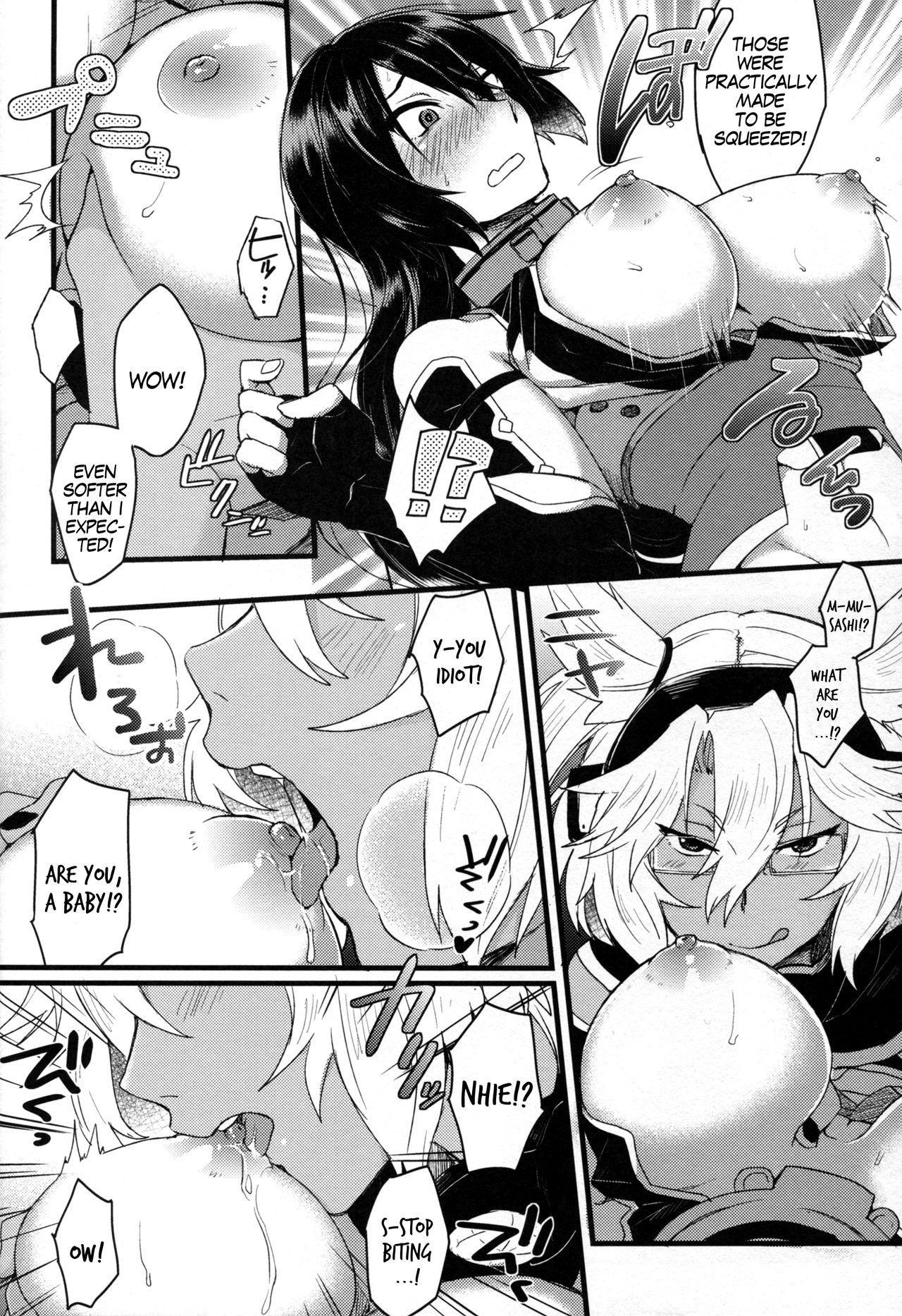 "Musashi x Nagato Anthology ""Beast Emotion"" Ch. 1 17"