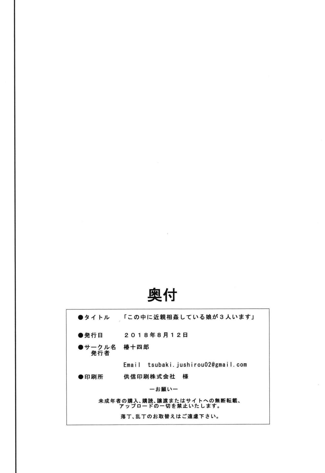 Kono Naka ni Kinshin Soukan Shiteiru Musume ga 3-nin Imasu #1 29