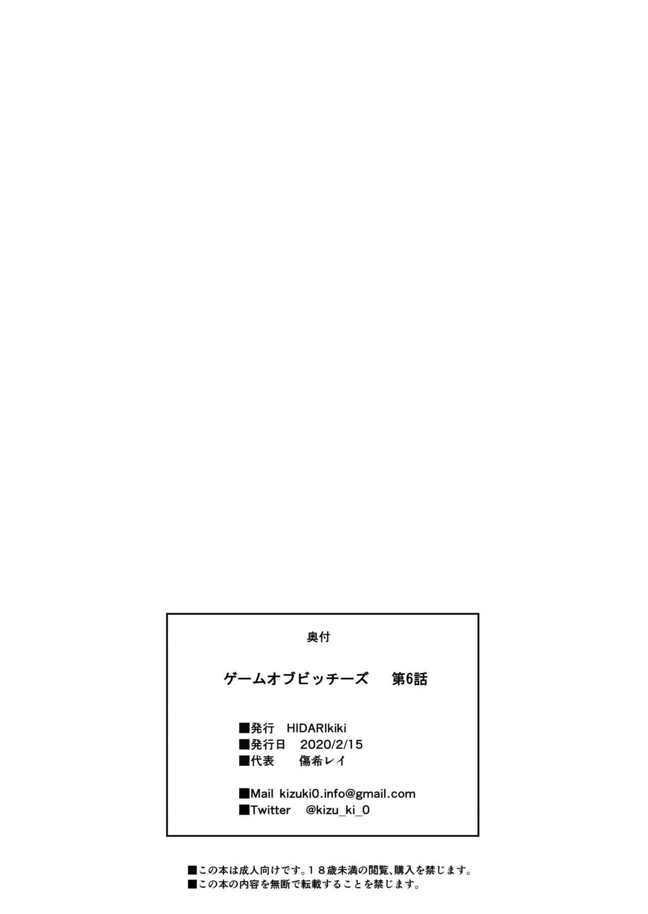 ゲームオブビッチーズ第6話 38