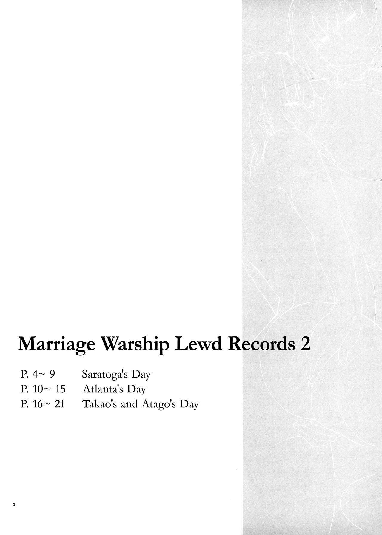 Kekkon Kan Sukebe Roku 2 | Warship Marriage Lewd Records 2 3