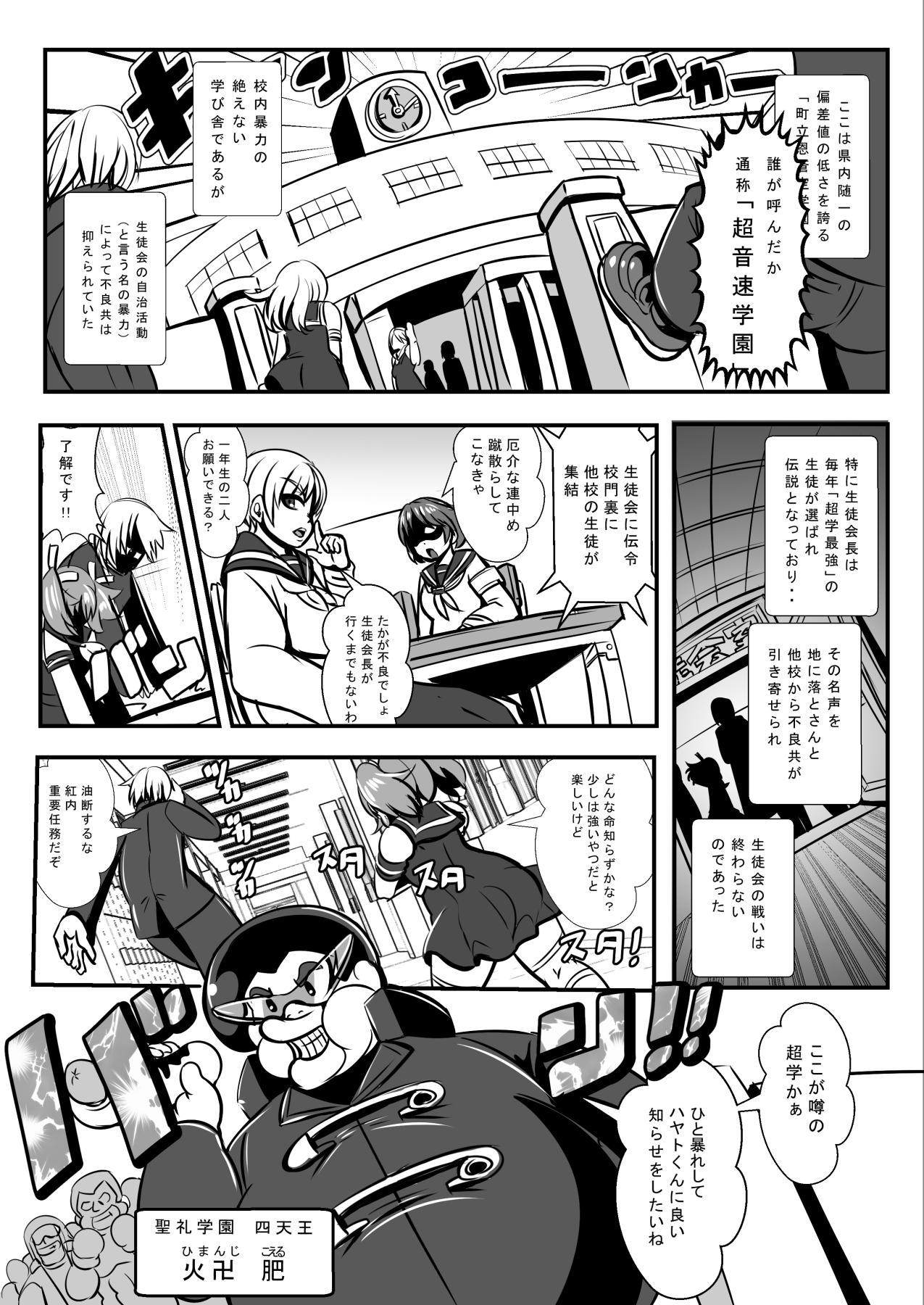 """Furyou Toubatsu Seitokai """"Haiboku Seisai"""" 0"""