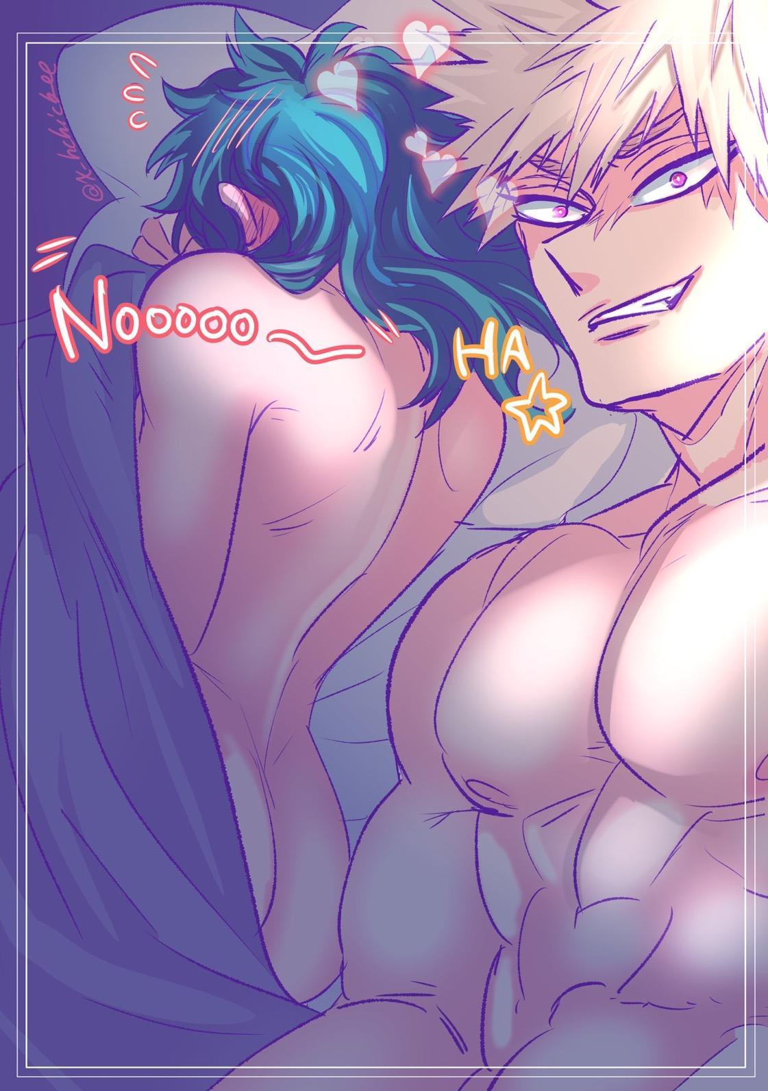 """[xbee]]Hark [kusa] Katsu deku ♀ R 18/ """"kawaii tte itte yo""""(Boku no Hero Academia) 58"""
