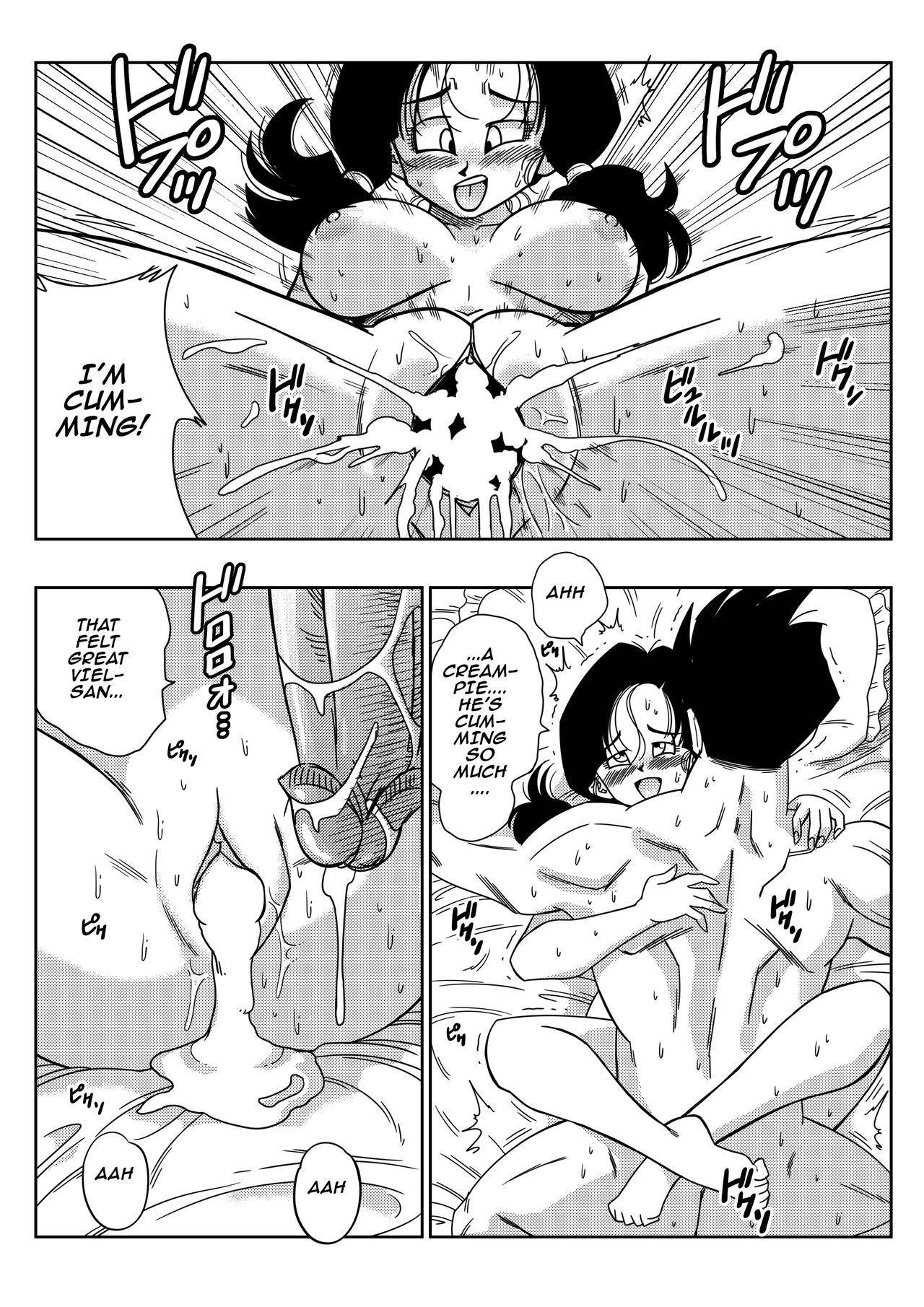 [Yamamoto] LOVE TRIANGLE Z PART 2 - Takusan Ecchi Shichaou! | LOVE TRIANGLE Z PART 2 - Let's Have Lots of Sex! (Dragon Ball Z) [English] [Decensored] 14