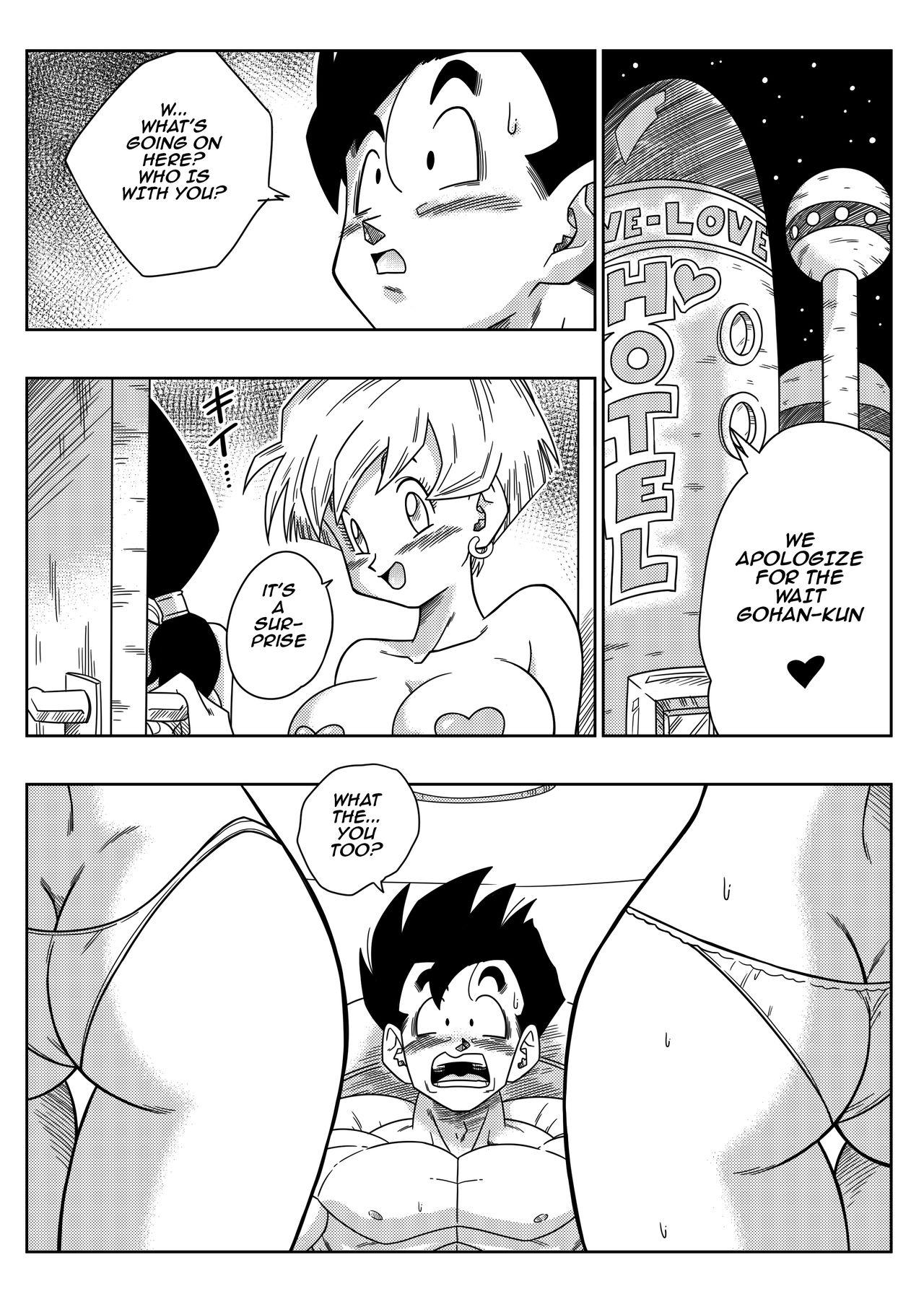 [Yamamoto] LOVE TRIANGLE Z PART 2 - Takusan Ecchi Shichaou! | LOVE TRIANGLE Z PART 2 - Let's Have Lots of Sex! (Dragon Ball Z) [English] [Decensored] 3