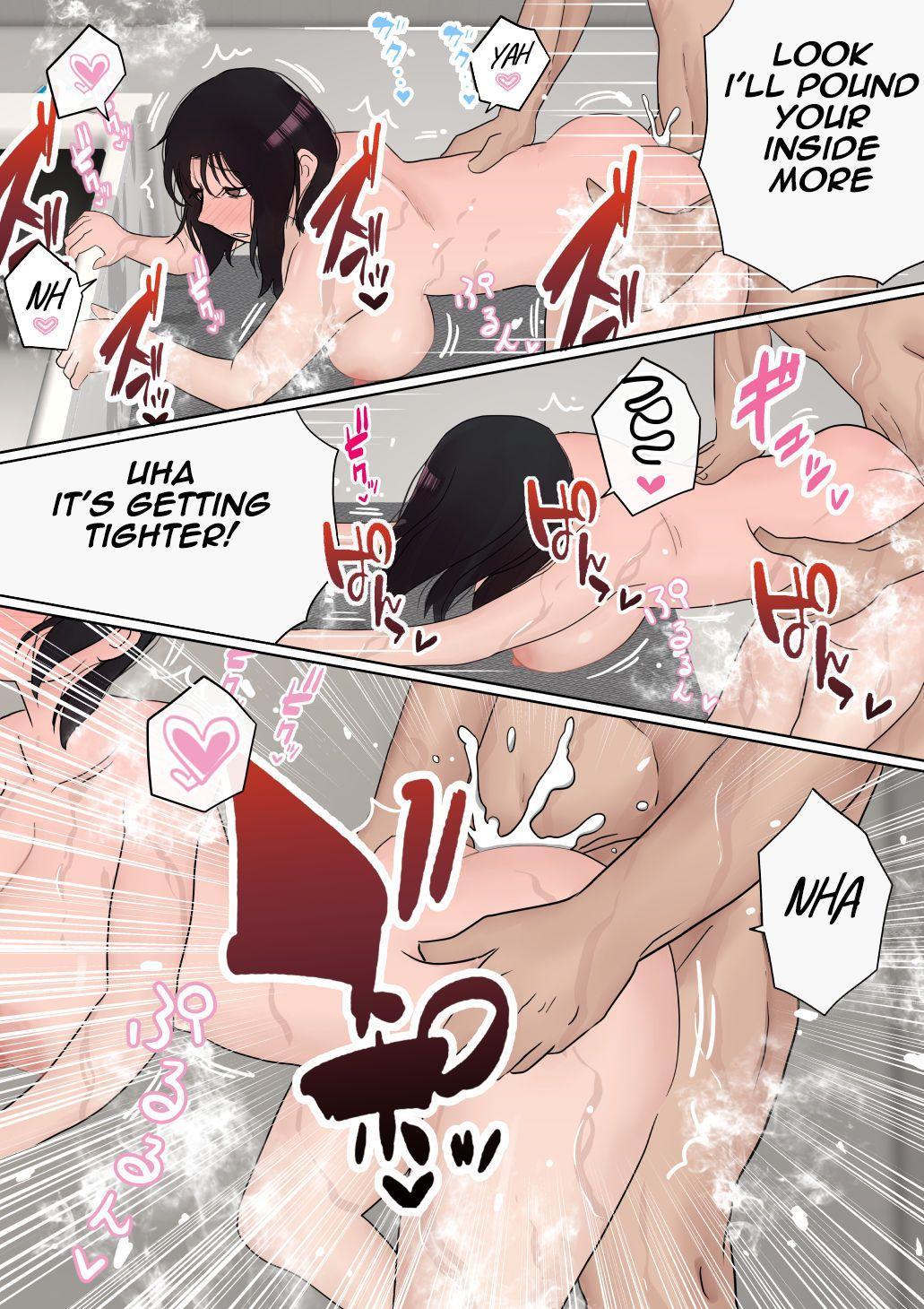 Ore no Kyonyuu Kanojo ga, Yarichin to Ofuro ni Hairu Koto ni NTR 2 | My big boobs girlfriend is take a shower with playboy NTR 2 52