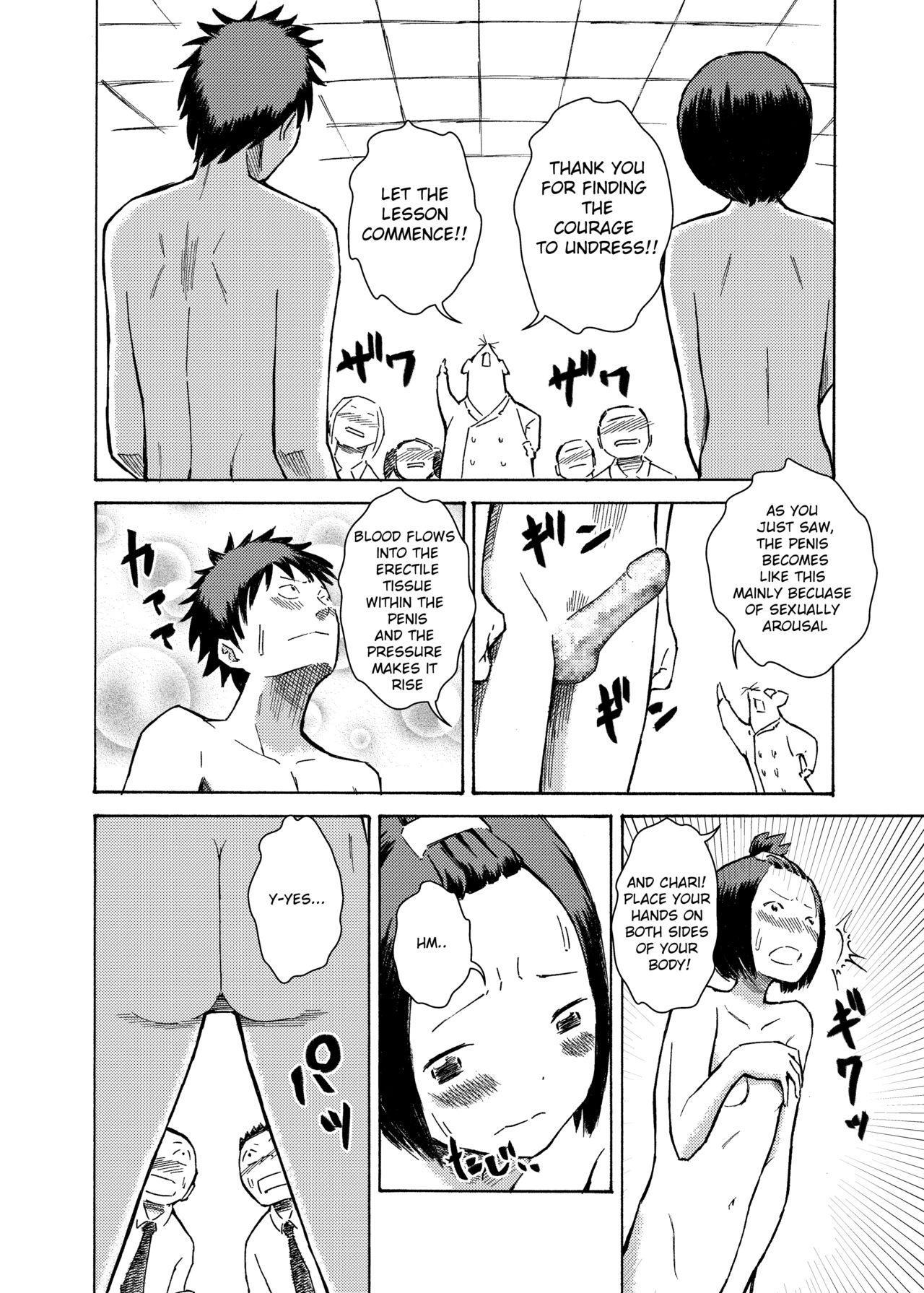 Classmate no Mae de Zenra de Kenshin o Ukesaseraremashita...   I was given a naked medical examination in front of my classmates... 10