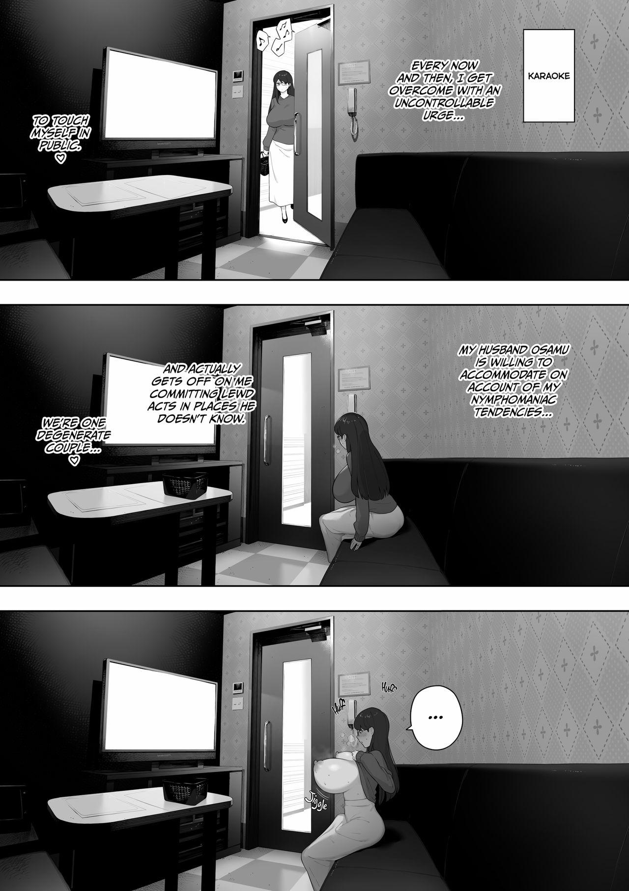 [NT Labo (NT Robo)] Aisai, Doui no Ue, Netorare Roshutsu | [NT Labo(NT Robo)] Cucked With_My Consent My Exhibitionist Wife [English] 37