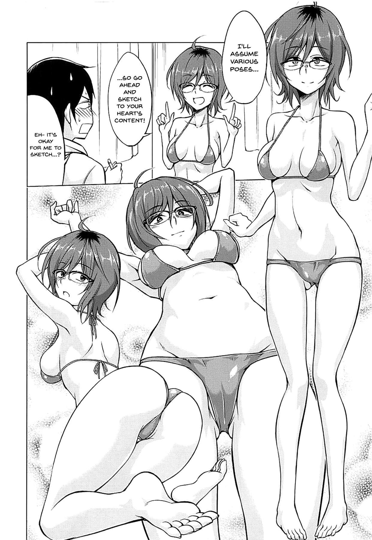 Hajime DE Shasei | For Hajime's Ero Doujins 2