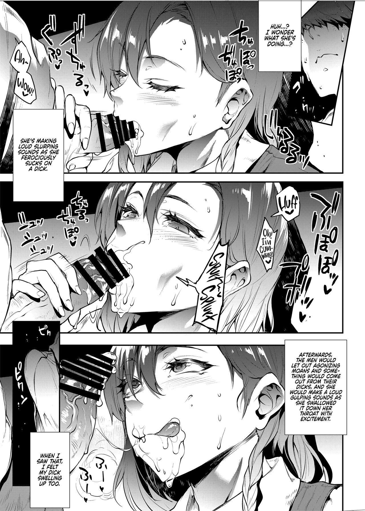 [ERECT TOUCH (Erect Sawaru)] Flower Vendor ~Hanauri Onee-san ni Yasashiku Fudeoroshi~ | Flower Vendor ~Gently Losing My Virginity To Miss Flower Vendor~ [English] [RedLantern] 12