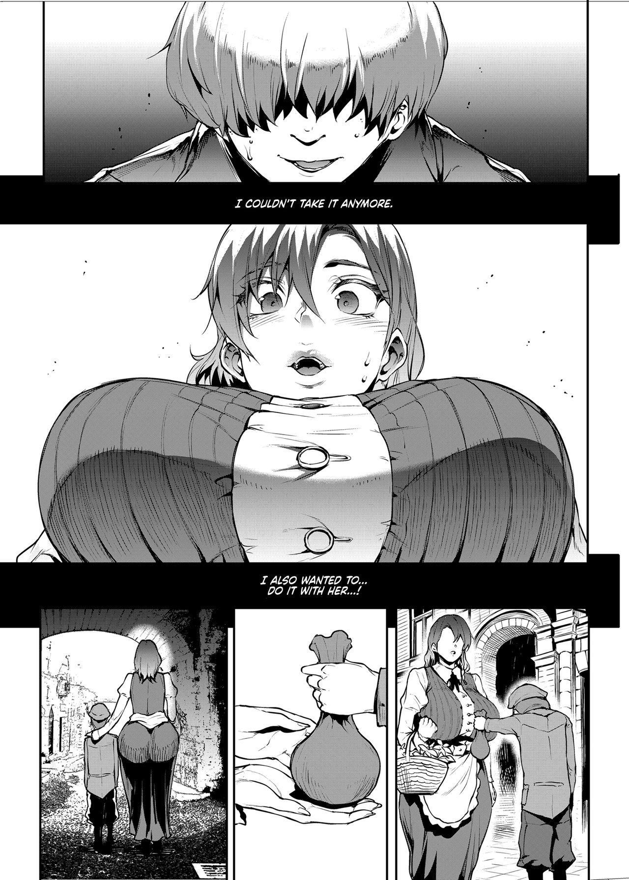 [ERECT TOUCH (Erect Sawaru)] Flower Vendor ~Hanauri Onee-san ni Yasashiku Fudeoroshi~ | Flower Vendor ~Gently Losing My Virginity To Miss Flower Vendor~ [English] [RedLantern] 16
