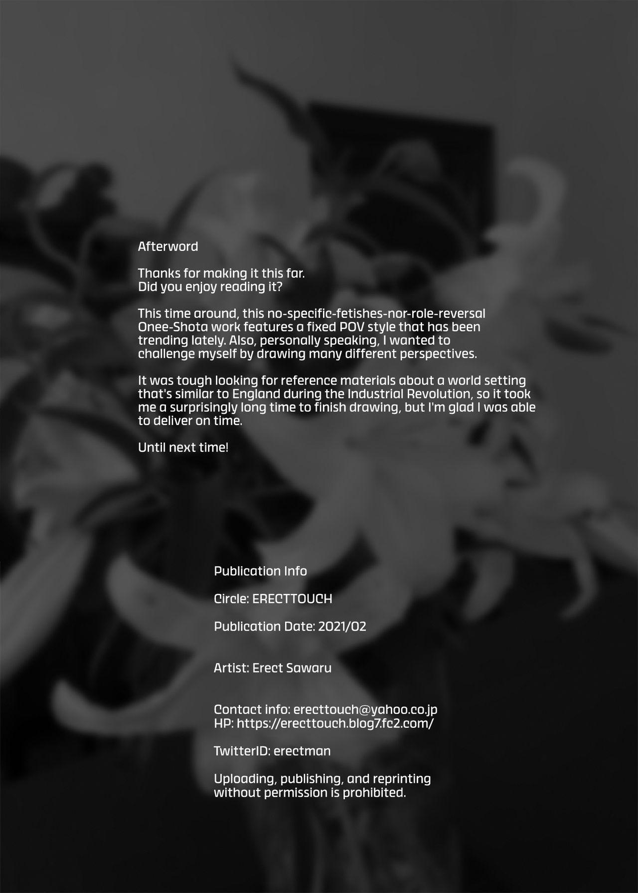 [ERECT TOUCH (Erect Sawaru)] Flower Vendor ~Hanauri Onee-san ni Yasashiku Fudeoroshi~ | Flower Vendor ~Gently Losing My Virginity To Miss Flower Vendor~ [English] [RedLantern] 40