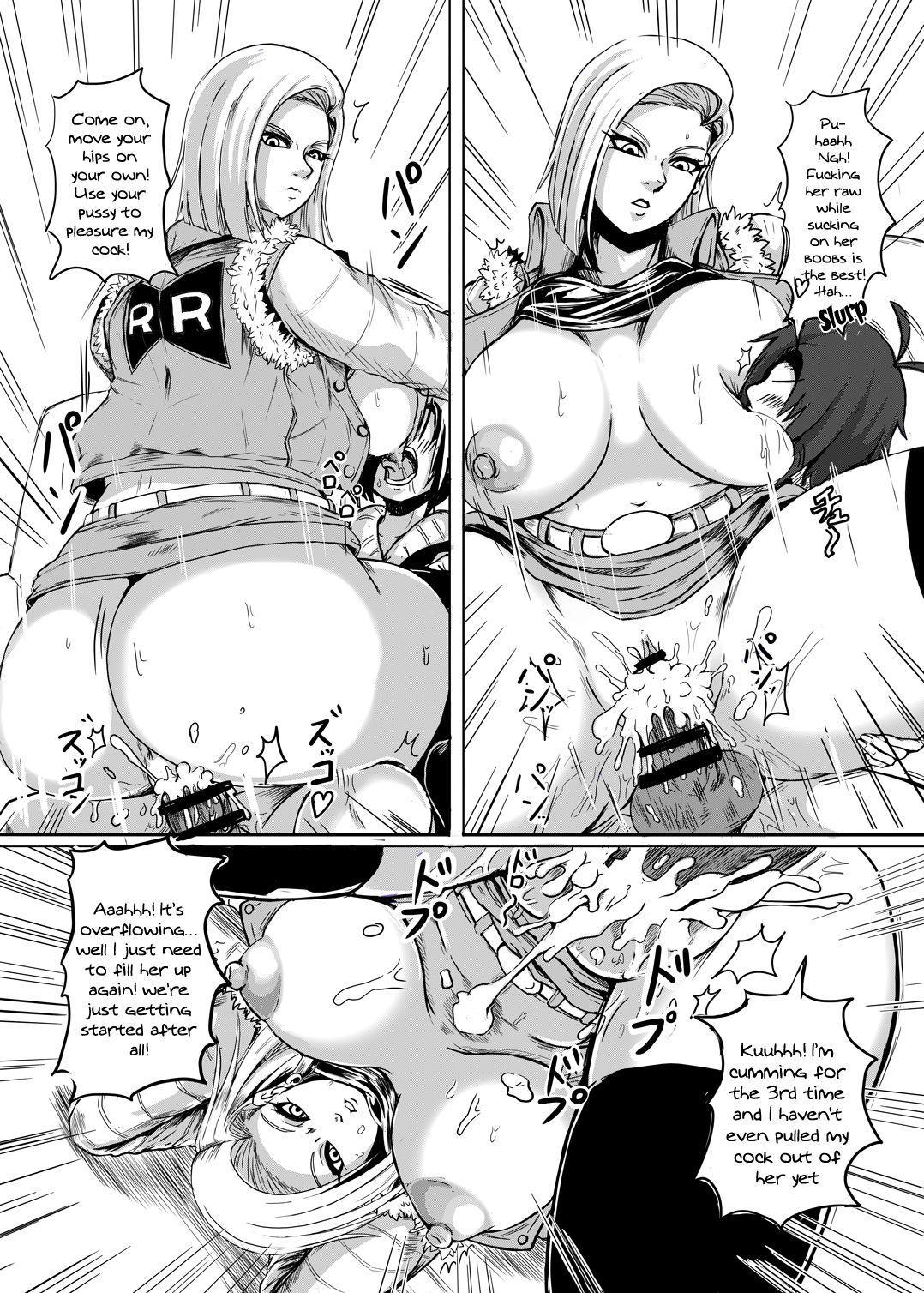 18-gou o Shuuchishin Zero ni Shite Yarimakurimashita   I Set Android 18's Shame To 0 And Fucked Her Over And Over 11