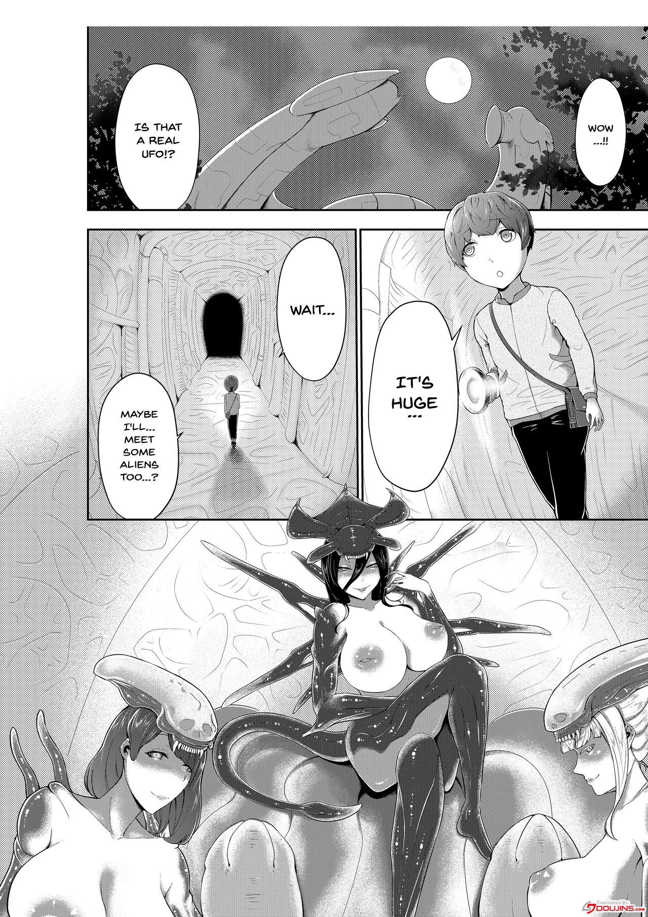 Alien Queen no Mae de Seieki o Sasageyou | Offer Up Your Sperm For The Alien Queen 1