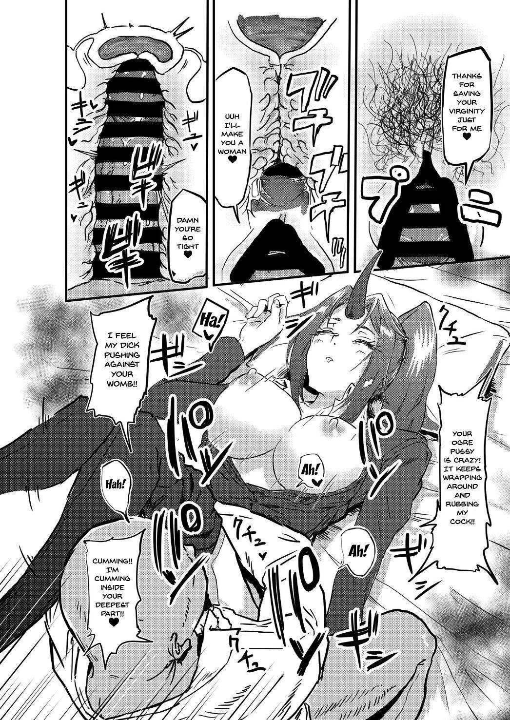 Bijin Kijin Hisho Suikan | Fucking A Beautiful Sleeping Oni Secretary 10