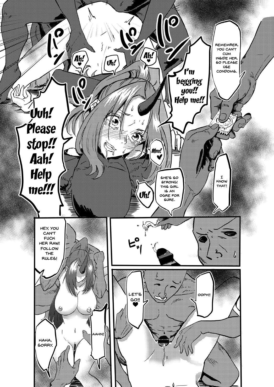 Bijin Kijin Hisho Suikan | Fucking A Beautiful Sleeping Oni Secretary 19
