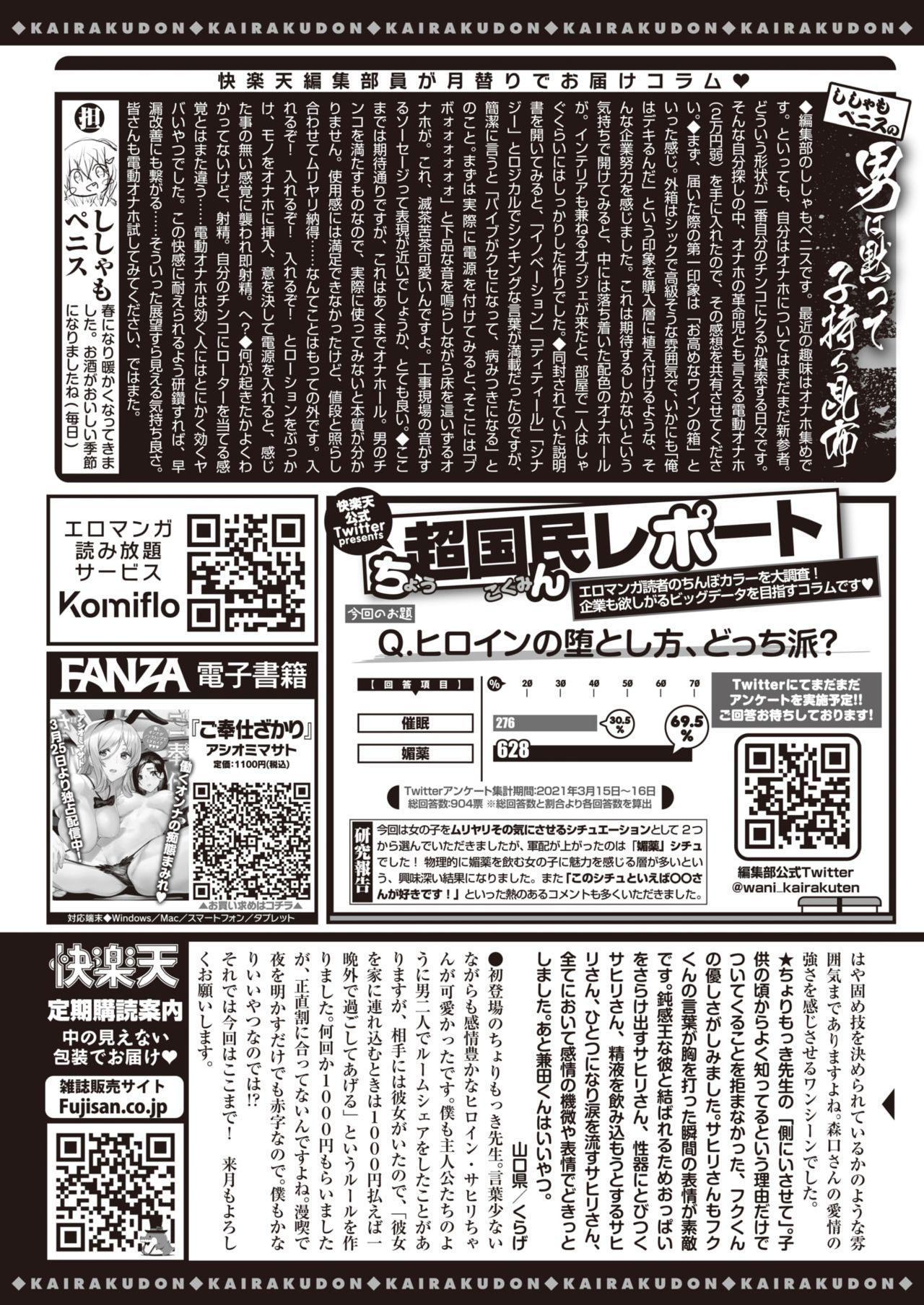 COMIC Kairakuten 2021-05 359