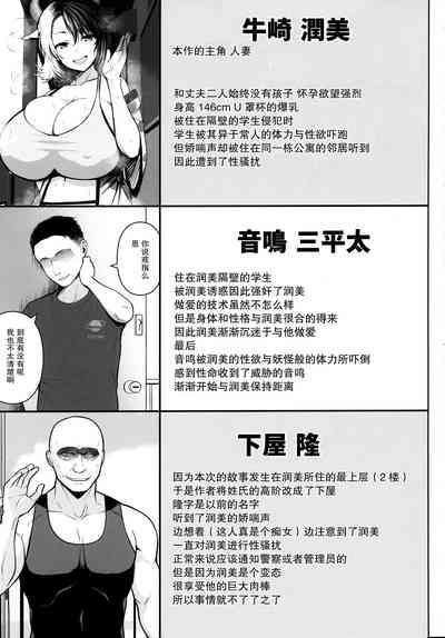 Oku-san no Oppai ga Dekasugiru no ga Warui! 3【不可视汉化】 2