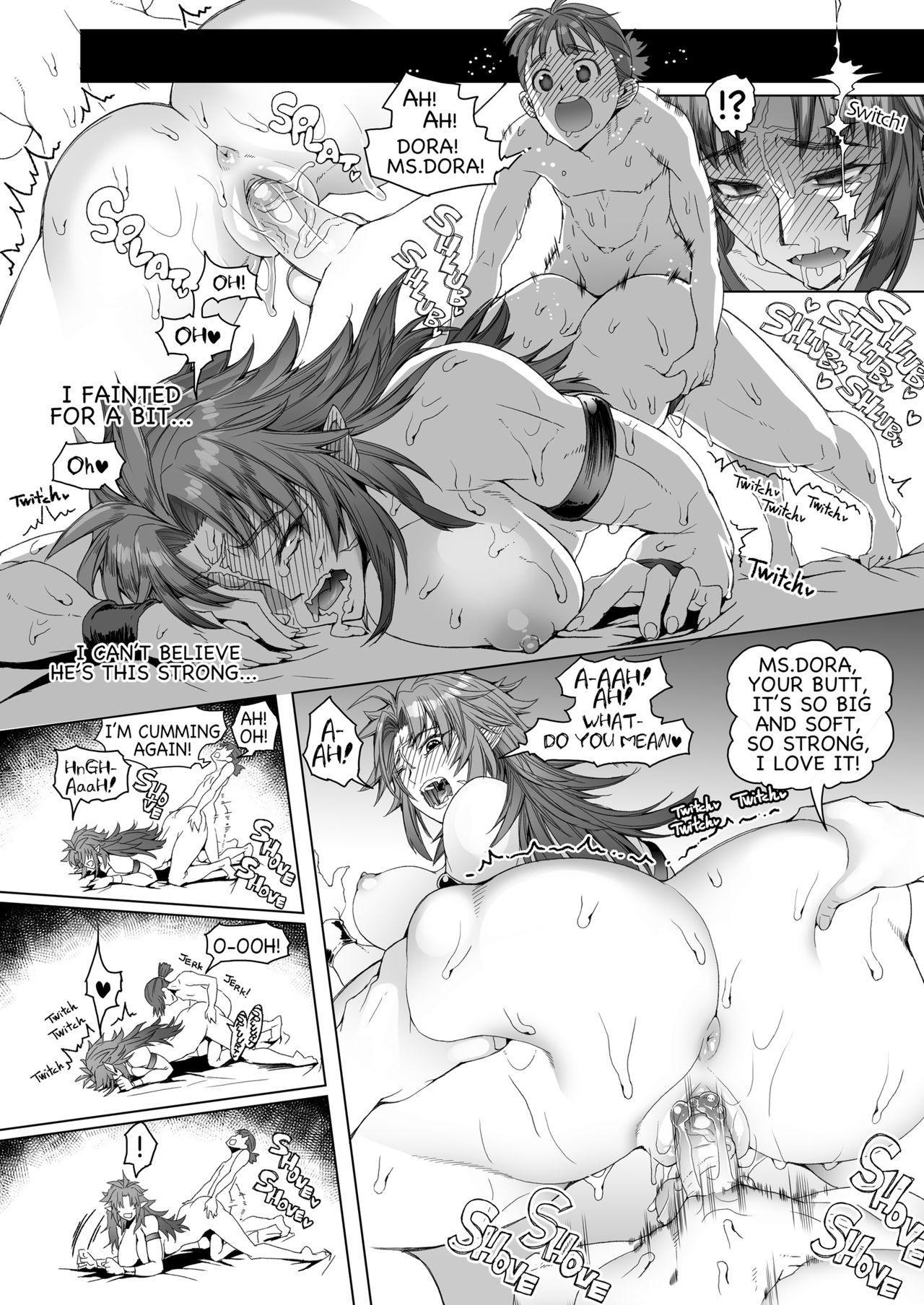 hiiro no tui to muku no miya | Dora the Readhead 16