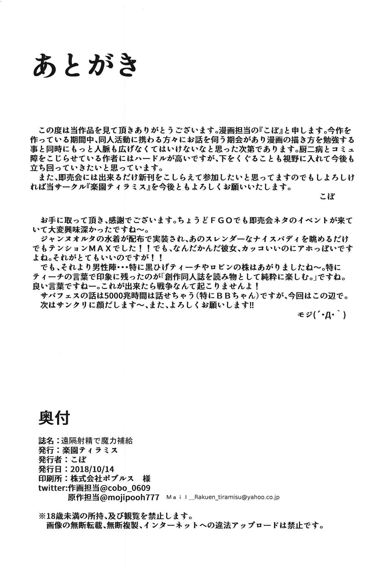 Enkaku Shasei de Maryoku Hokyuu 20