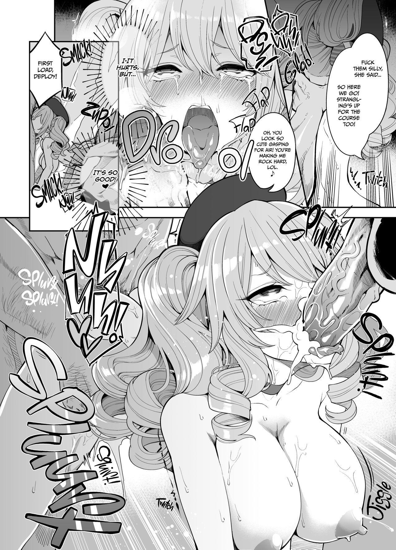 [Showa Saishuu Sensen (Hanauna)] Mizuho & Kashima no Nikubenki (Maji)   Mizuho vs Kashima: How to Become a Proper Cum-dumpster (Kantai Collection -KanColle-) [English] {2d-market.com} [Decensored] [Digital] 10
