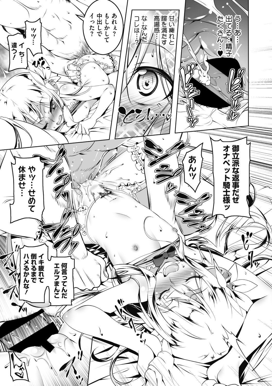 Koukotsu no Kishi Elfina Kouki na Elf Kishi ga Ochiru made~ 17