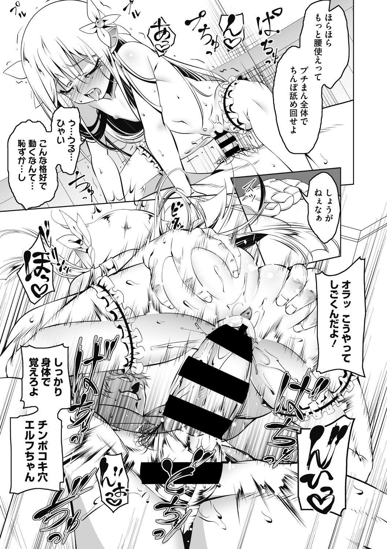 Koukotsu no Kishi Elfina Kouki na Elf Kishi ga Ochiru made~ 19