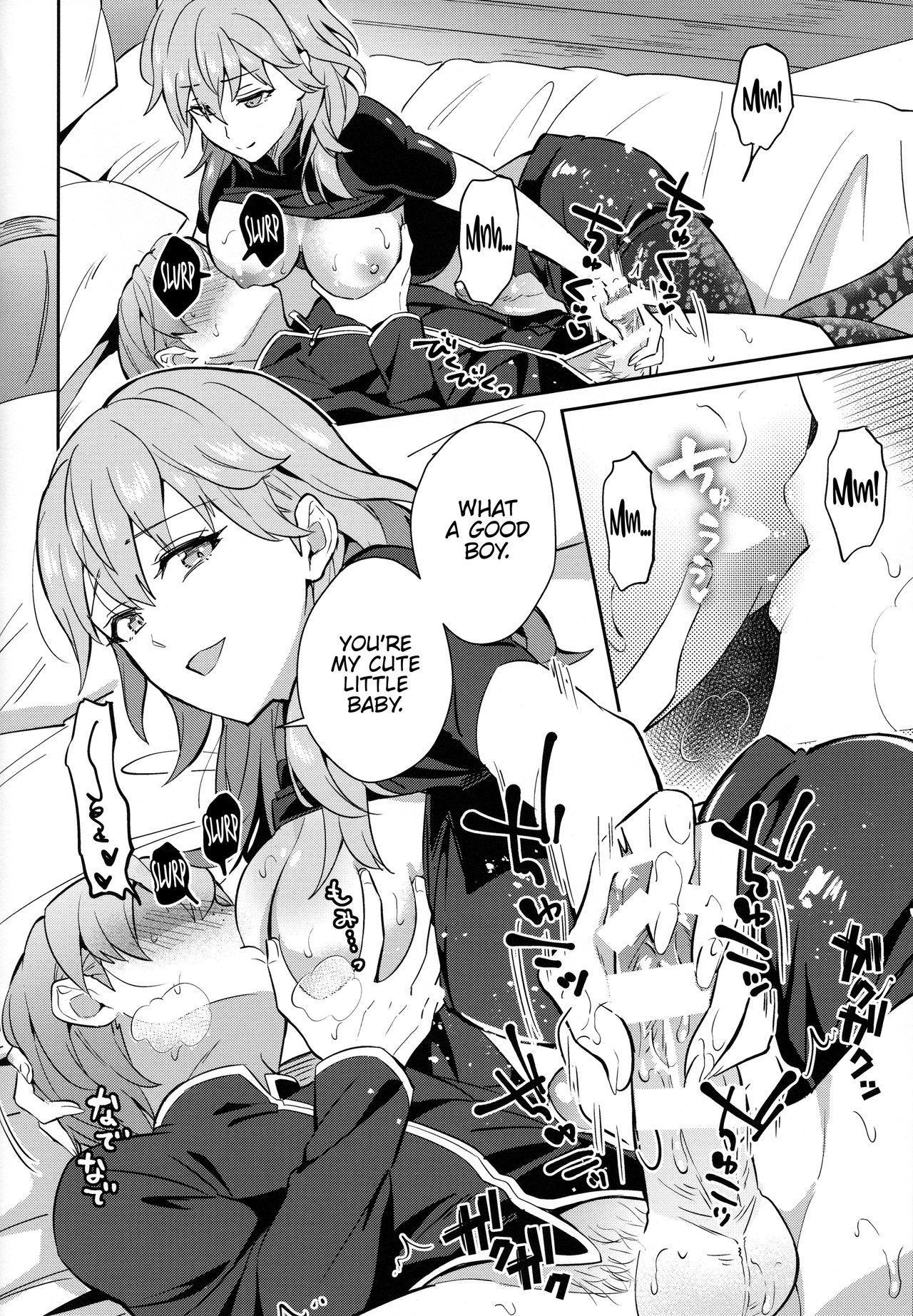 [Usamimi Syndrome (Erutasuku)] Daisuki na Sensei o Oyome-san ni Shita Hazu ga Boku ga Oyome-san ni Sareru nante!? (Fire Emblem: Three Houses) [English] {Hennojin} 19