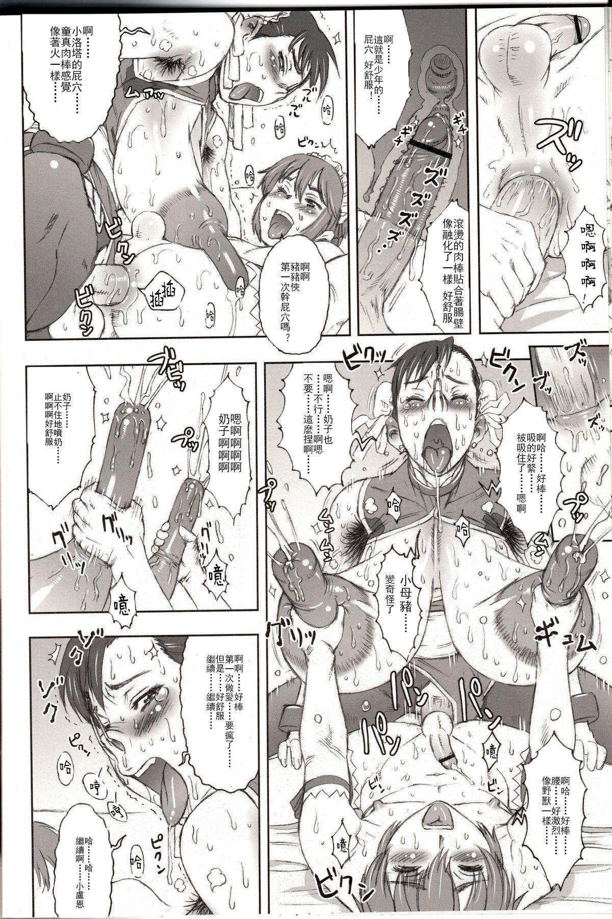 (C70) [Niku Ringo (Kakugari Kyoudai)] NIPPON Onna HEROINE 2 (Darkstalkers, Street Fighter II)[Chinese]【不可视汉化】 24
