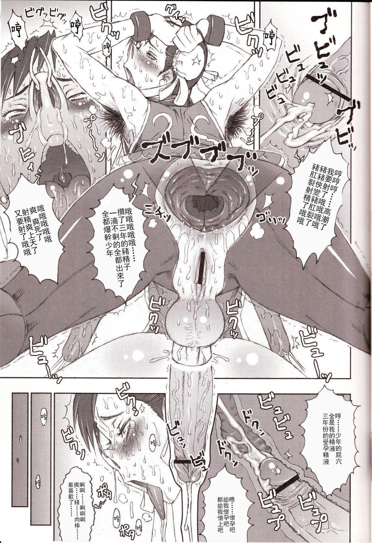 (C70) [Niku Ringo (Kakugari Kyoudai)] NIPPON Onna HEROINE 2 (Darkstalkers, Street Fighter II)[Chinese]【不可视汉化】 27
