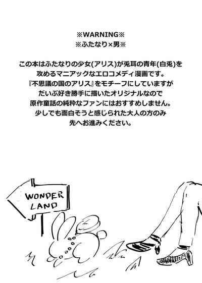 Futanari Alice to Shiro Usagi Oniisan no Aru Hirusagari no Dekigoto 2