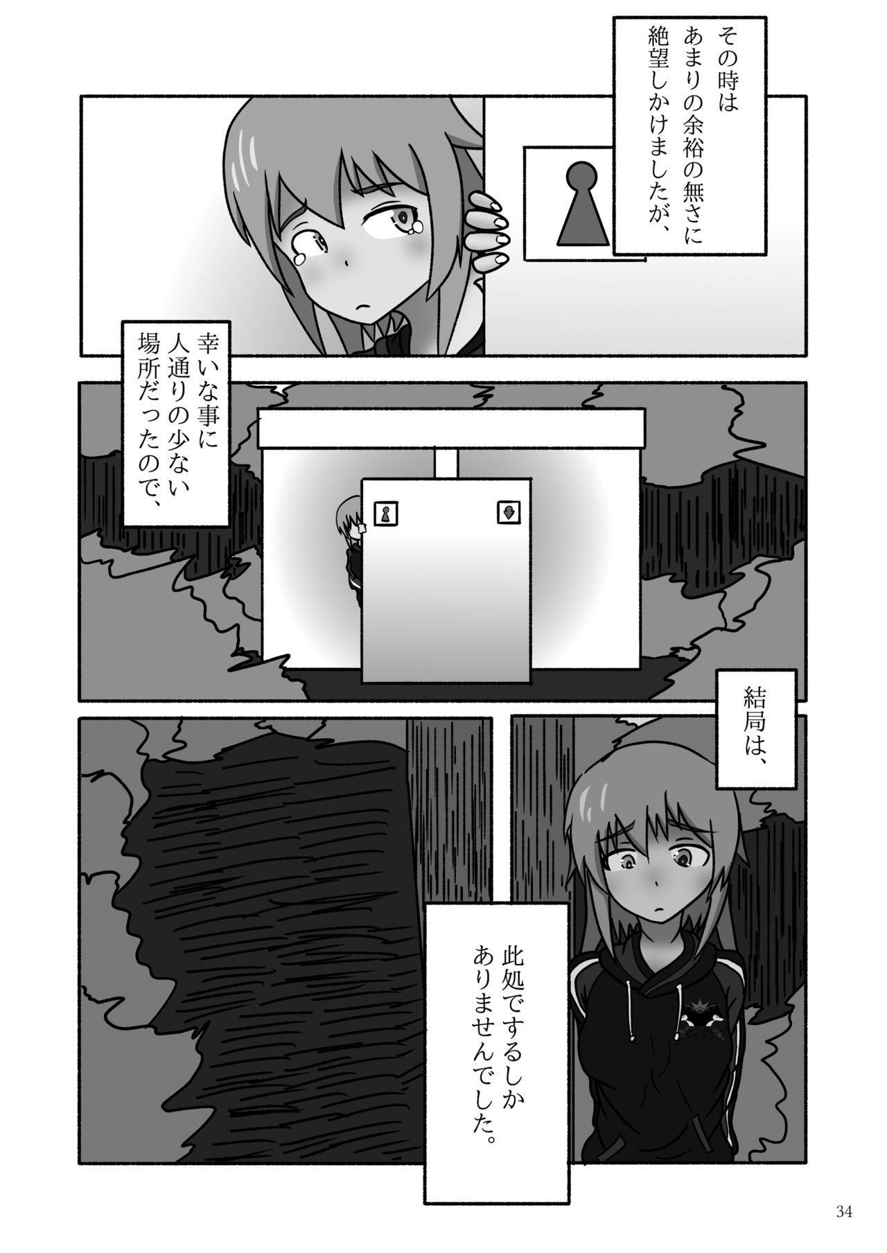 ア○スギア総合スカトロアンソロジー アクトレス排泄実態調査任務~スカポためるっすか!?~ 33
