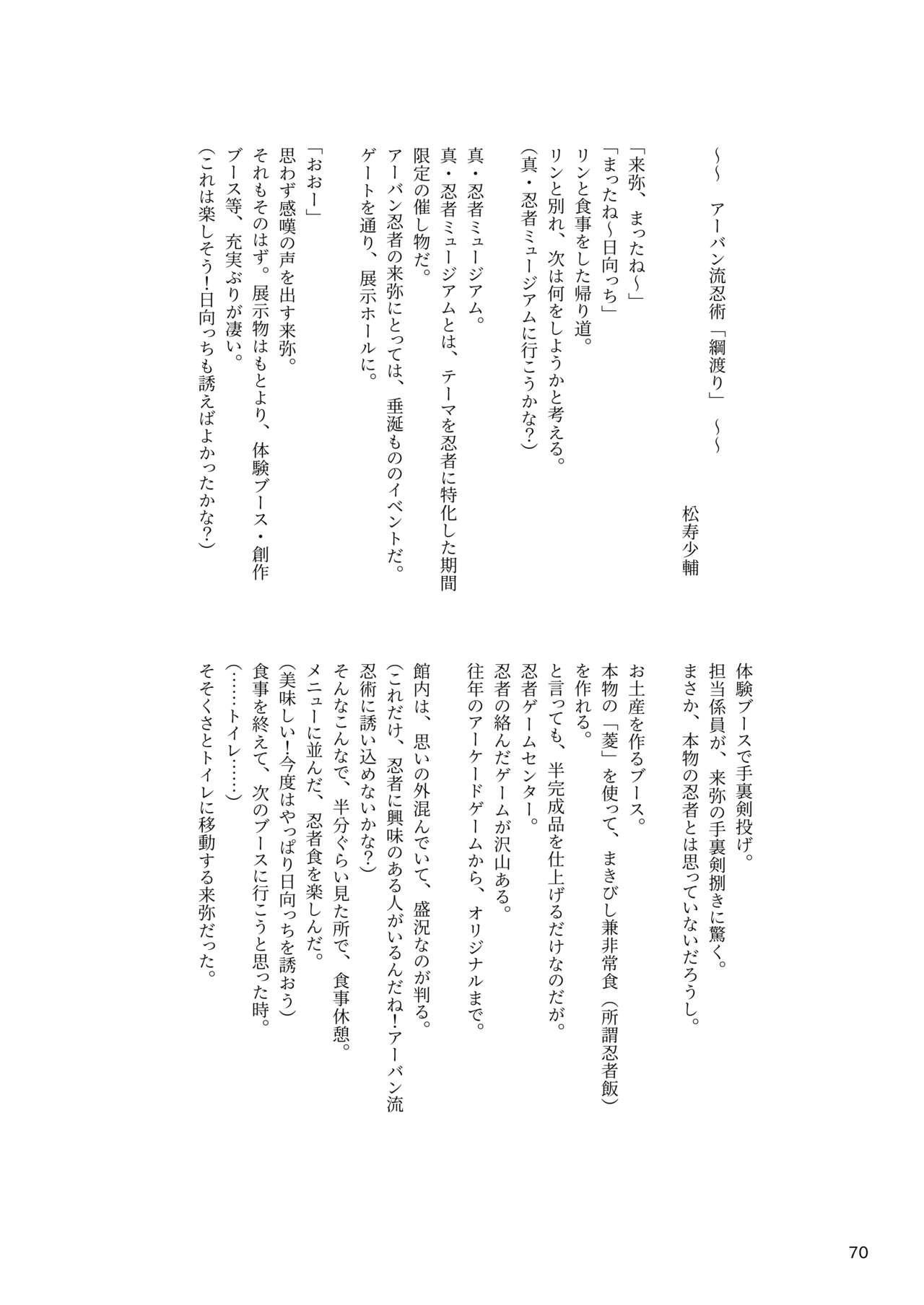 ア○スギア総合スカトロアンソロジー アクトレス排泄実態調査任務~スカポためるっすか!?~ 69