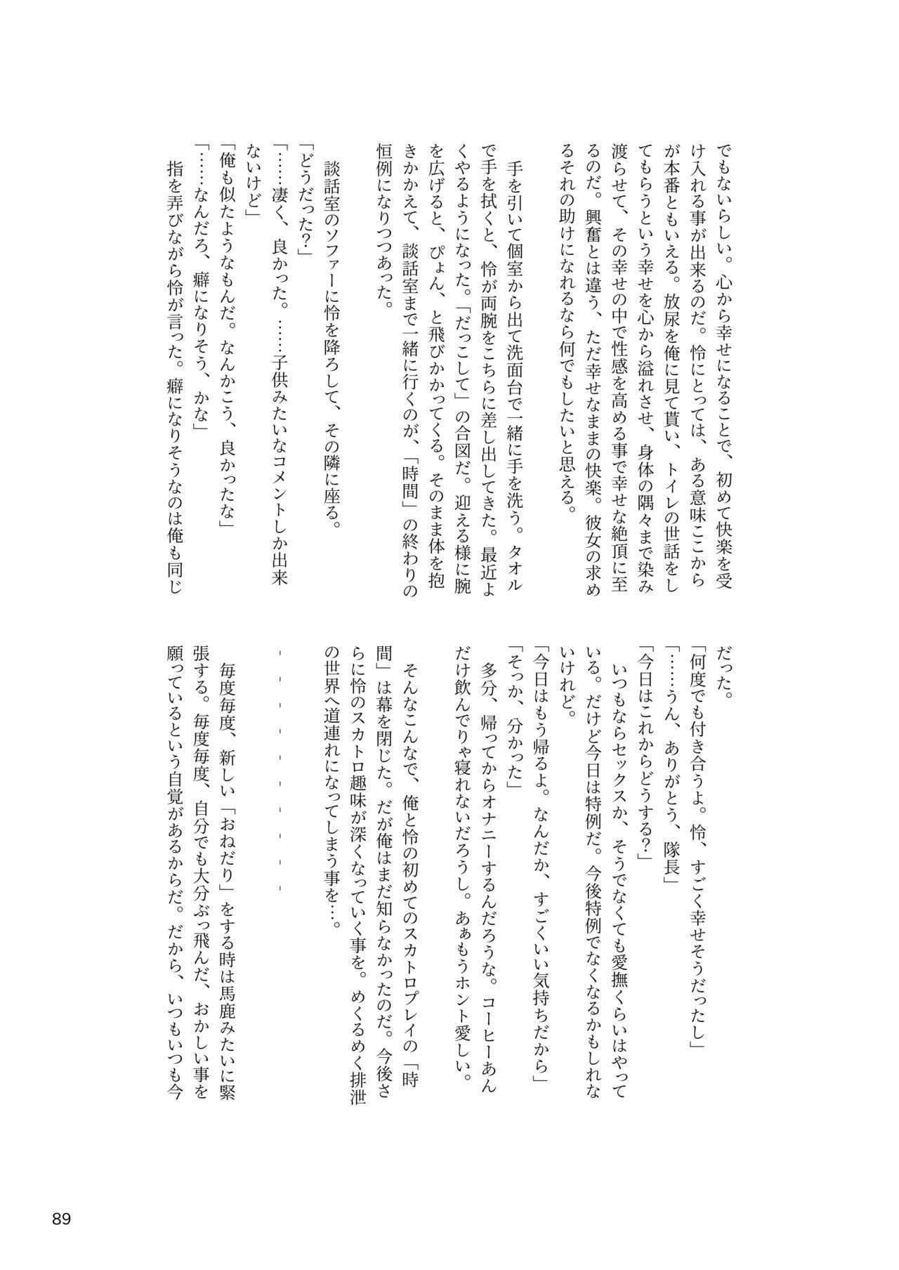 ア○スギア総合スカトロアンソロジー アクトレス排泄実態調査任務~スカポためるっすか!?~ 88