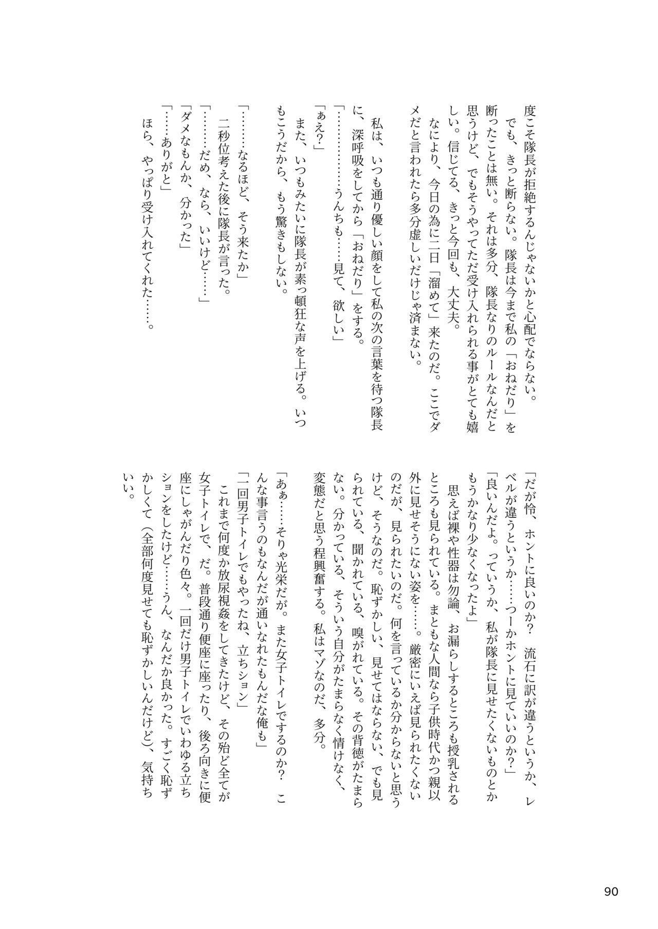 ア○スギア総合スカトロアンソロジー アクトレス排泄実態調査任務~スカポためるっすか!?~ 89