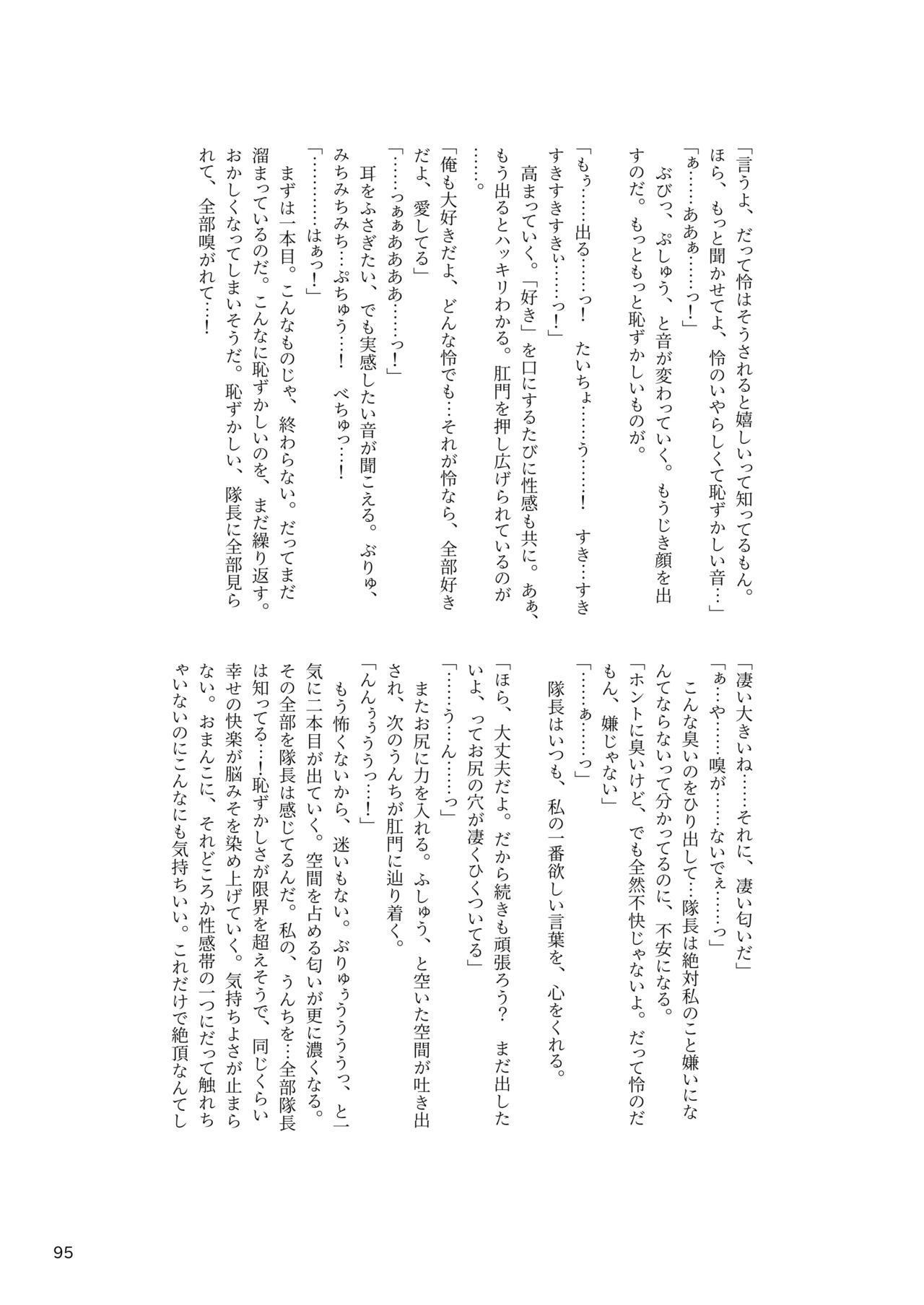 ア○スギア総合スカトロアンソロジー アクトレス排泄実態調査任務~スカポためるっすか!?~ 94