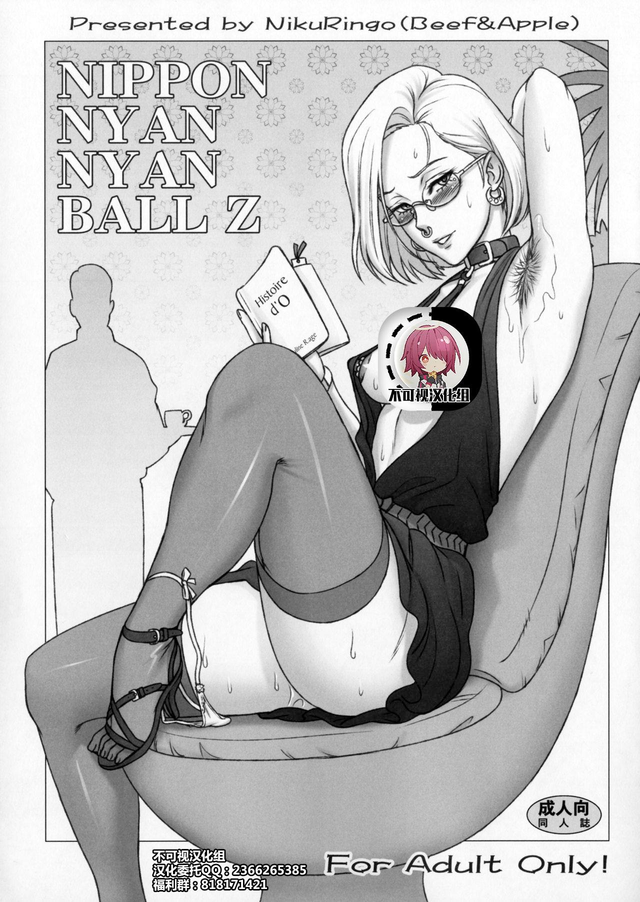 (C91) [Niku Ringo (Kakugari Kyoudai)] NIPPON NYAN NYAN BALL Z (Dragon Ball Z)[Chinese]【不可视汉化】 0