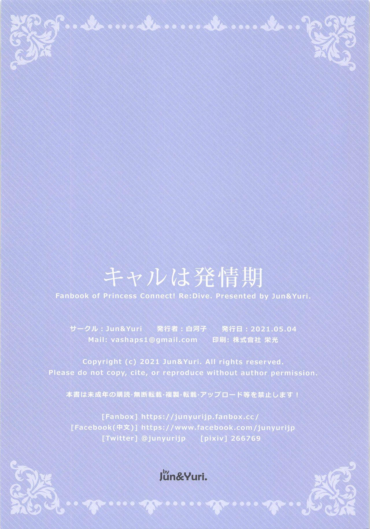Kyaru wa Hatsujouki 12